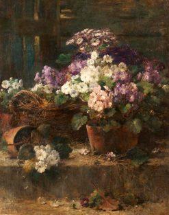 Flower Pots | Eugène Joors | Oil Painting