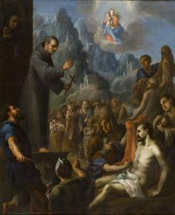 Miracles of Saint Salvador de Horta | Juan Rodriguez Juarez | Oil Painting