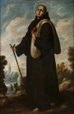 San Juan de Dios | Juan Rodriguez Juarez | Oil Painting