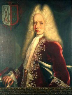 Viceroy Fernando de Alencastre | Juan Rodriguez Juarez | Oil Painting