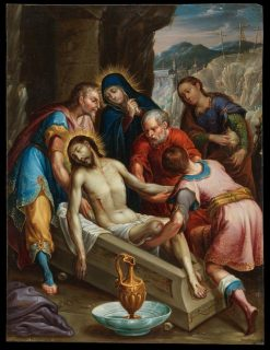 The Entombment of Christ | Juan Rodriguez Juarez | Oil Painting