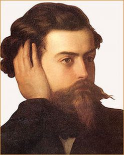 Portrait of Goffredo Mameli   Domenico Induno   Oil Painting