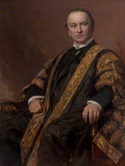 George Nathaniel Curzon | Hubert von Herkomer | Oil Painting