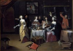 Elegant Company | Hieronymus Janssens | Oil Painting