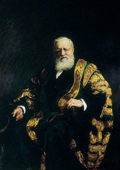 George Frederick Samuel Robinson | Hubert von Herkomer | Oil Painting