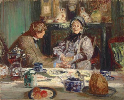 Painter Sickert and His Mother