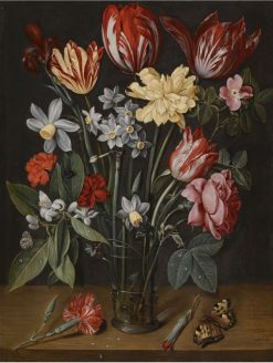 A still life with tulips