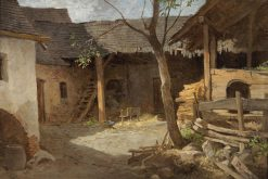 The Farmyard | Leopold Munsch | Oil Painting