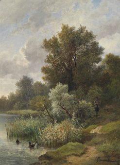 Praterpartie | Leopold Munsch | Oil Painting