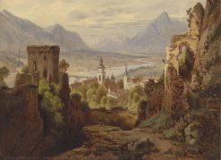 View of Rattenberg | Leopold Munsch | Oil Painting