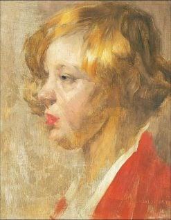 Portrait of a Girl | Bertelan Karlovsky | Oil Painting