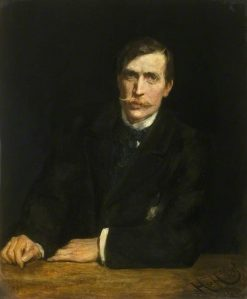 George Harcourt | Hubert von Herkomer | Oil Painting