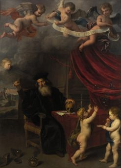 Allegory of Transience | Jan van den Hoecke | Oil Painting
