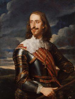 Archduke Leopold Wilhelm in Armor | Jan van den Hoecke | Oil Painting