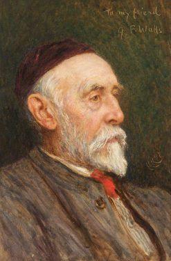 George Frederic Watts | Hubert von Herkomer | Oil Painting