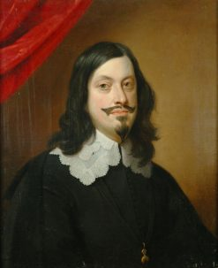 Portrait of Emperor Ferdinand III | Jan van den Hoecke | Oil Painting
