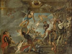 The Triumph of Time | Jan van den Hoecke | Oil Painting