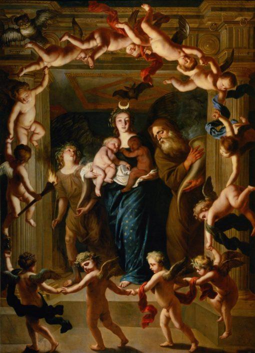 Allegory of the Night | Jan van den Hoecke | Oil Painting