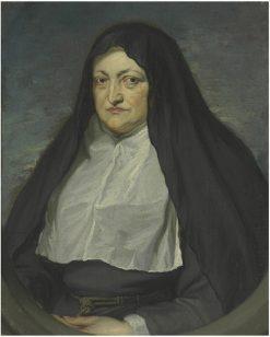 Portrait of Archduchess Isabella Clara Eugenia   Jan van den Hoecke   Oil Painting