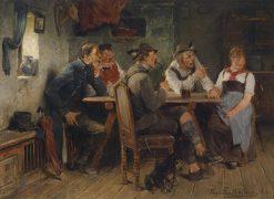 Auf dem Prufstand | Hugo Wilhelm Kauffmann | Oil Painting