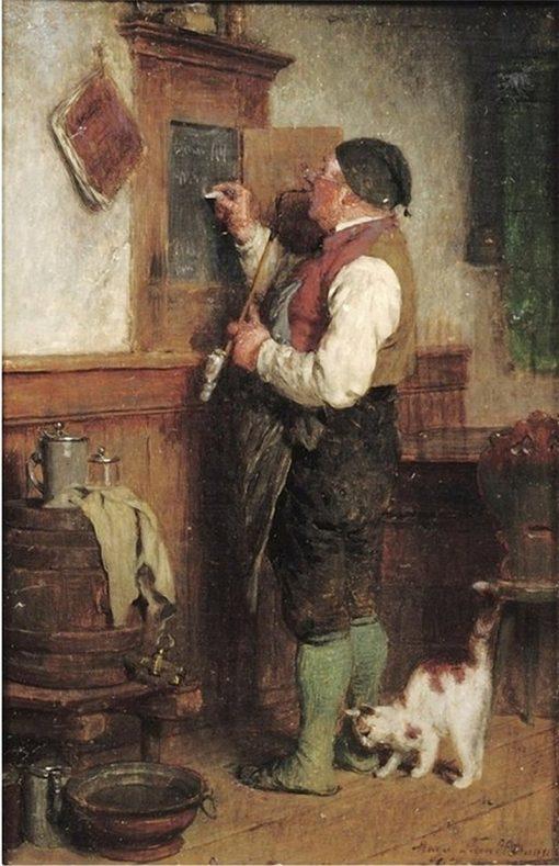 The Days Special | Hugo Wilhelm Kauffmann | Oil Painting