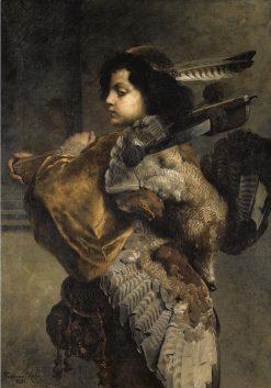 Young Hunter | Ferdinand Keller | Oil Painting