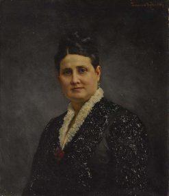 Portrait of a Lady | Ferdinand Keller | Oil Painting