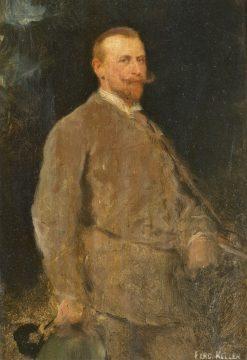 The Hunter | Ferdinand Keller | Oil Painting
