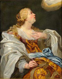 Sibylla Cimmeria | Jan van den Hoecke | Oil Painting