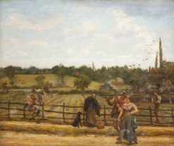 Haymaking and Lovemaking | Hubert von Herkomer | Oil Painting