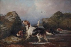 Dogs | Colin Graeme Roe | Oil Painting