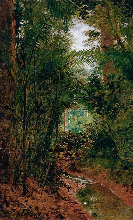 Landscape at the Rio das Pedras | Jose Ferraz de Almeida Junior | Oil Painting