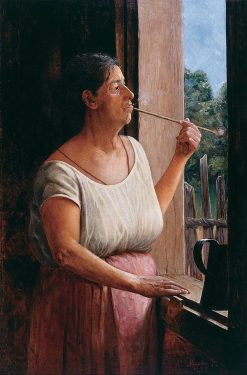 Nhá Chica | Jose Ferraz de Almeida Junior | Oil Painting