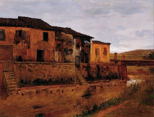 Tabatinguera Bridge | Jose Ferraz de Almeida Junior | Oil Painting