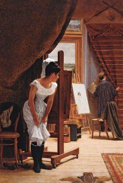 The Inopportune | Jose Ferraz de Almeida Junior | Oil Painting