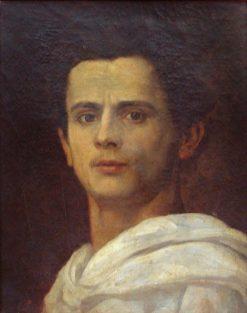 Self Portrait | Jose Ferraz de Almeida Junior | Oil Painting