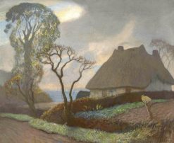 Old Essex in November | Sir George Clausen