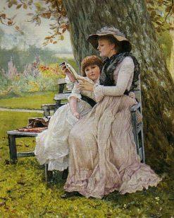 Summer Days | Edward Killingworth Johnson | Oil Painting