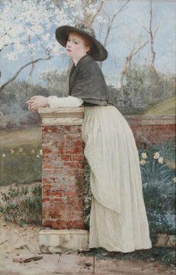 Waiting For Spring | Edward Killingworth Johnson | Oil Painting