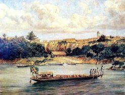 The Barge | Jose Ferraz de Almeida Junior | Oil Painting