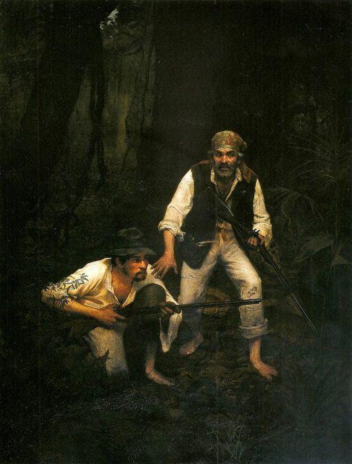 Decoying Countrymen | Jose Ferraz de Almeida Junior | Oil Painting