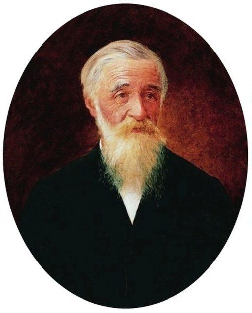 Portrait of Euzebio Stevaux   Jose Ferraz de Almeida Junior   Oil Painting