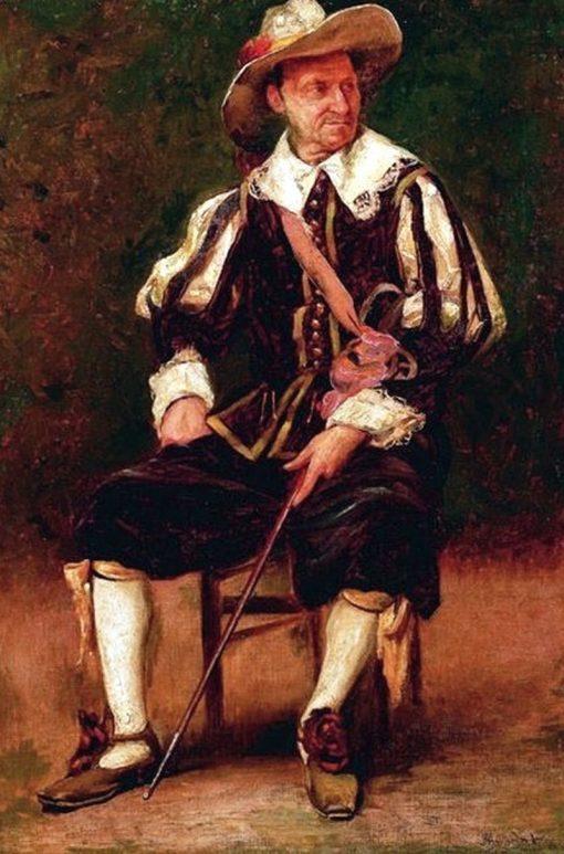Musketeer | Jose Ferraz de Almeida Junior | Oil Painting