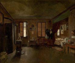 The Artists Studio | Jose Ferraz de Almeida Junior | Oil Painting