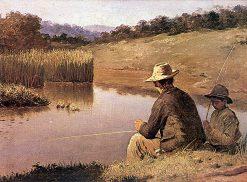 Fishing   Jose Ferraz de Almeida Junior   Oil Painting
