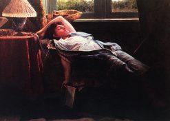 Resting   Jose Ferraz de Almeida Junior   Oil Painting