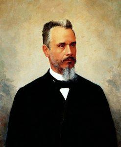 Portrait of Bernardino de Campos | Jose Ferraz de Almeida Junior | Oil Painting