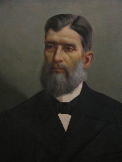 Portrait of Prudente de Moraes   Jose Ferraz de Almeida Junior   Oil Painting
