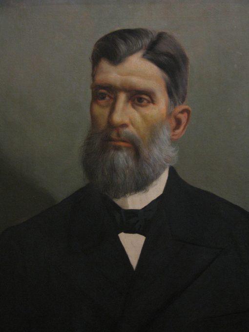 Portrait of Prudente de Moraes | Jose Ferraz de Almeida Junior | Oil Painting