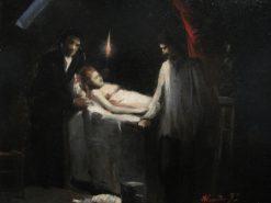 The Sculptor (Resurrection) | Jose Ferraz de Almeida Junior | Oil Painting